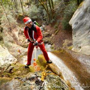 canyon canyoning suspendu pere noel pays de gex geneve lausanne nyon ain bugey jura-26
