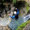 canyoning canyon rafting canoe proche pays de gex geneve lausanne nyon jura saint claude bugey chaley lyon grosdar coiserette tessin guide famille enfants ados amis evg evjf anniversaire 9