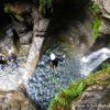 canyoning canyon rafting canoe proche pays de gex geneve lausanne nyon jura st claude bugey chaley lyon grosdar coiserette tessin guide famille enfants ados amis evg evjf anniversaire 10