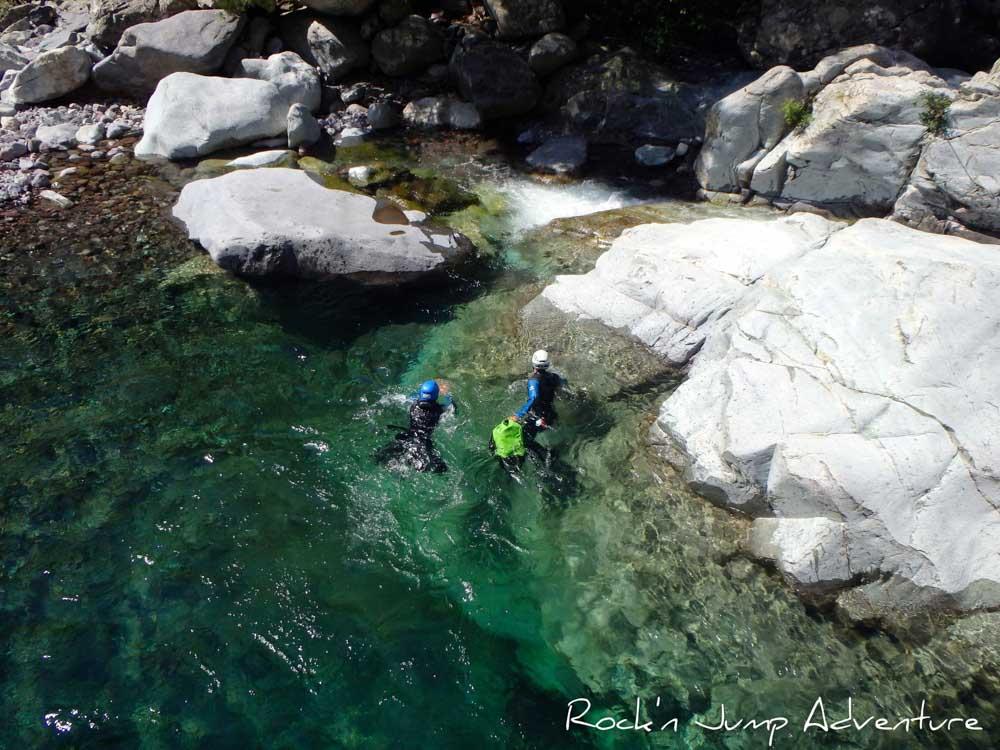 canyoning dans le Jura et le Bugey