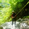 canyoning suspendu jura saint claude Flumen pissevieille sandezanne