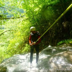 canyoning suspendu jura saint claude bellegarde geneve lausanne nyon lyon