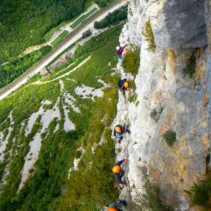 camp vacances verticales canyoning escalade jura