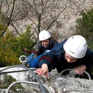 Crazy Packs canyoning via ferrata jura bugey saint claude pays de gex geneve lausanne nyon lyon