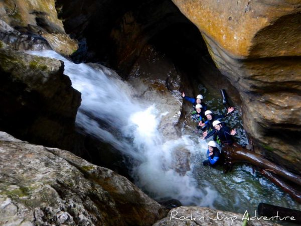 incentive canyoning pays de gex geneve lausanne nyon