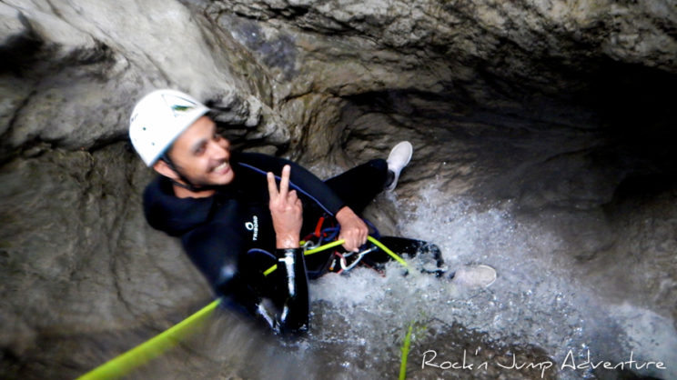 canyoning coiserette saint claude jura