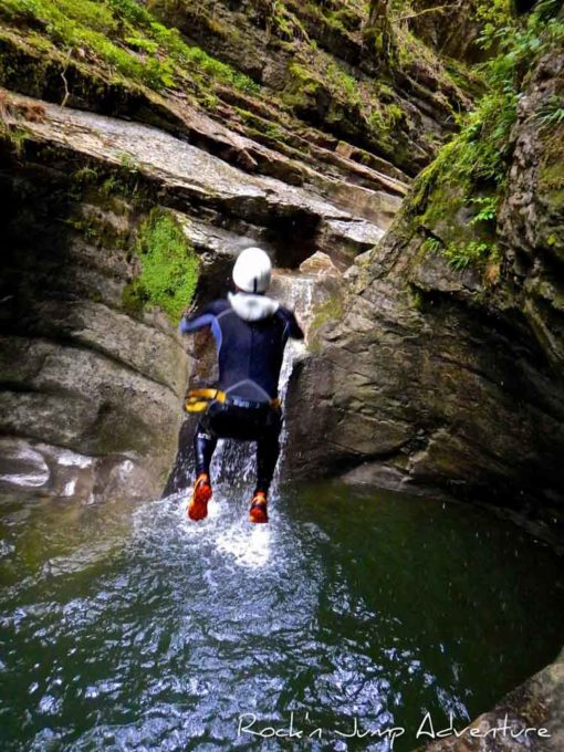 Vos descentes de Canyoning saint claude jura