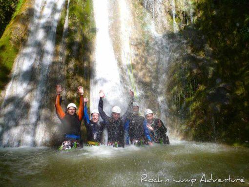 Enterrement de Vie de Garçon EVG EVC canyoning escalade via ferrata jura geneve pays de gex lausanne nyon lyon