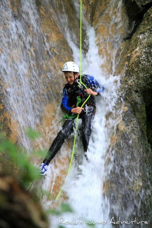 canyoning aventure jura saint claude grosdar