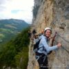 Via Ferrata sportive jura regardoir vouglans morez
