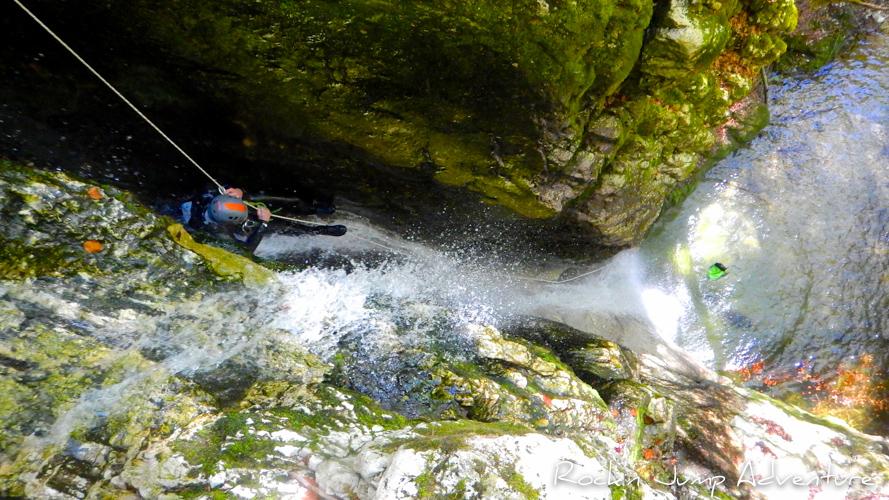 canyoning jura saint claude bugey pissevieille