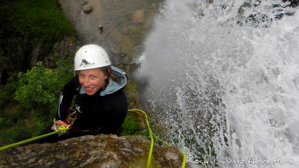 descente du canyon du grosdar intégral saint claude jura