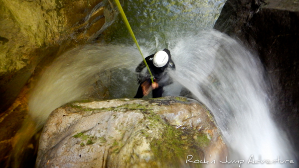 canyoning annecy angon intégral