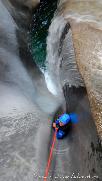 une semaine de canyoning dans le Tessin